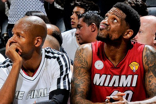 Haslem Started Pitching Allen to Return to Heat in Shower After Game 7