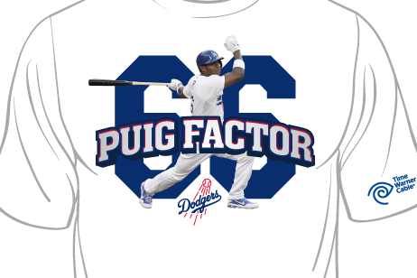 Just Announced: Yasiel Puig T-Shirt Giveaway on July 14