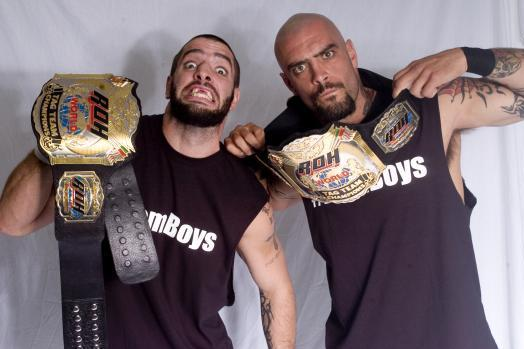 Report: Briscoe Brothers and ROH Part Ways