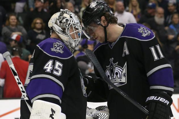 Kings Players Have Parting Thoughts for Jonathan Bernier