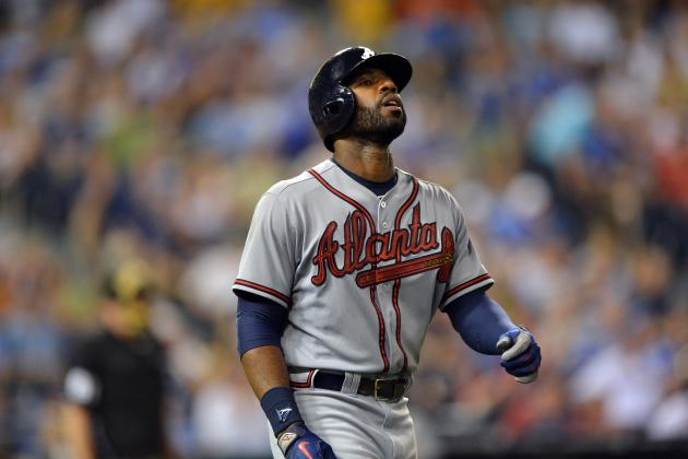 Heyward Drives in Three as Braves Defeat Royals