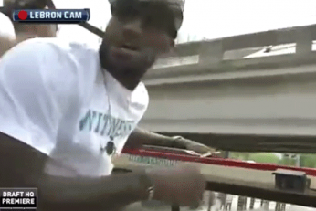 LeBron and Heat Turn Championship Parade into Obstacle Course