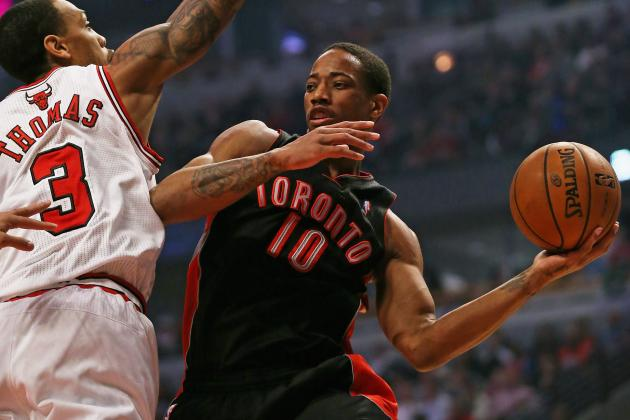 DeRozan: Raps Are Looking to Get Defensive