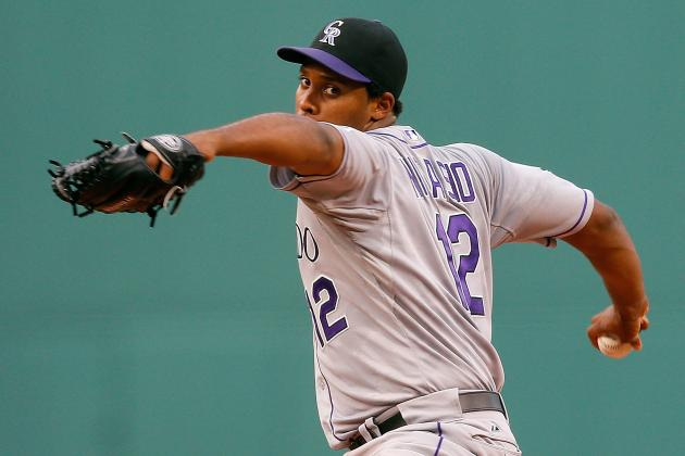 Juan Nicasio No Match for Red Sox Bats as Rockies Get Blown out