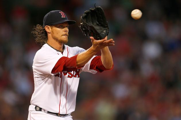 Buchholz Throws 'Aggessive' Long Toss