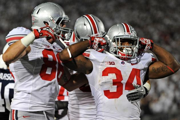 Ohio State Football: Do the 2013 Buckeyes Have the Best RB Corps in the Country?