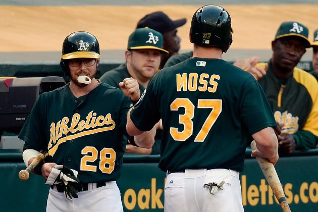 Healthy A's Lineup Puts Away Cincinnati