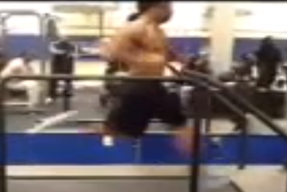Arizona Cardinals WR Robert Gill Running 25 MPH on Treadmill [video]