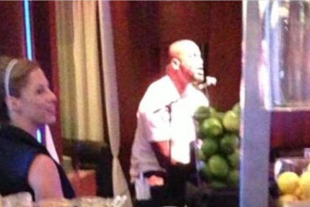 Shaq Lip-Synchs Brian McKnight for a Lady Friend in the Middle of Restaurant