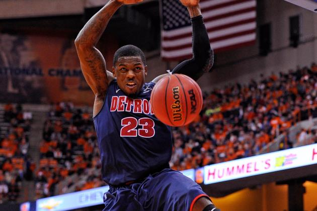 Detroit's Doug Anderson Drafted by the Harlem Globetrotters
