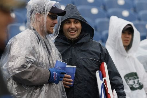 Bills Fans Feel Left out in the Cold