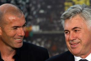 Zidane, Clement to Assist Ancelotti