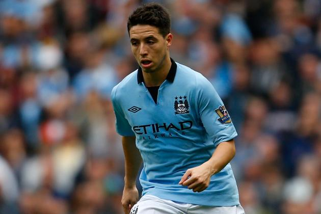 Samir Nasri Ready for Selection Battle at Manchester City