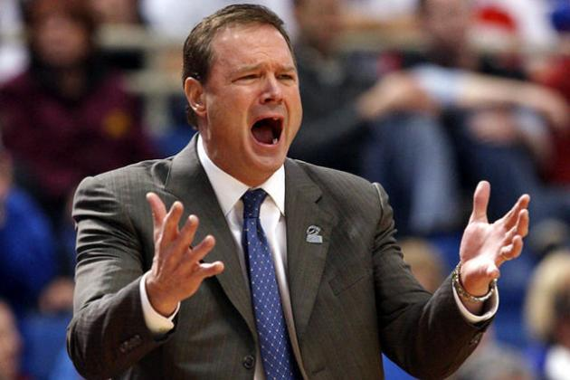 DI Men's Basketball Committee Issues Reprimand to Kansas Coach Self