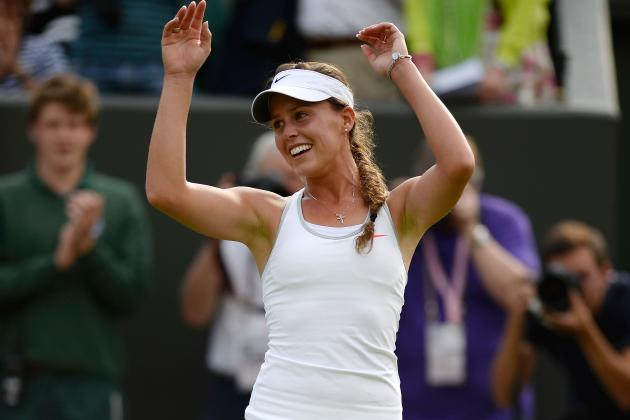 Maria Sharapova Upset By Michelle Larcher De Brito at 2013 Wimbledon