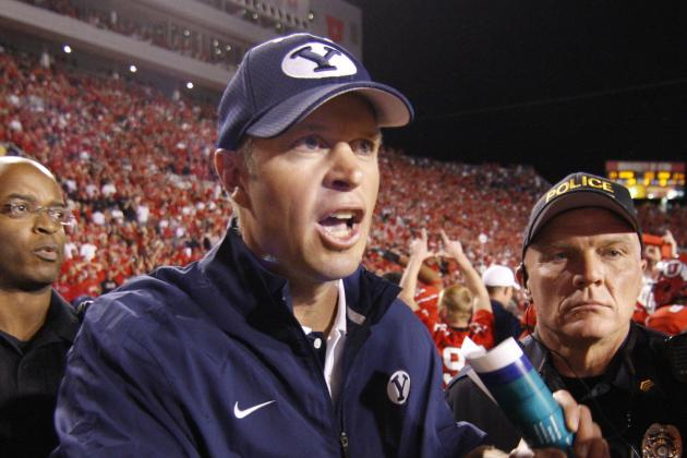 BYU Extends Bronco Mendenhall's Contract, Announce 3-Game Series with USC