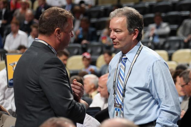 Penguins GM Shero Still Pondering Approach to the Draft