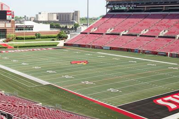 Photo: Louisville Gets New FieldTurf for Football and Baseball Fields