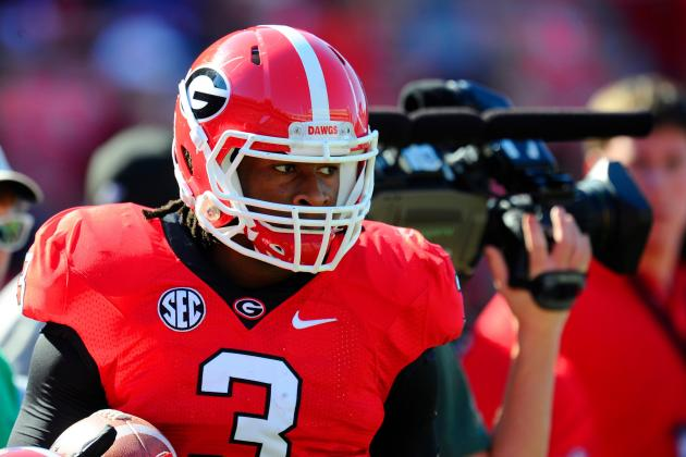 Georgia RB Todd Gurley Deserves the Accolades, but Isn't a Heisman Contender