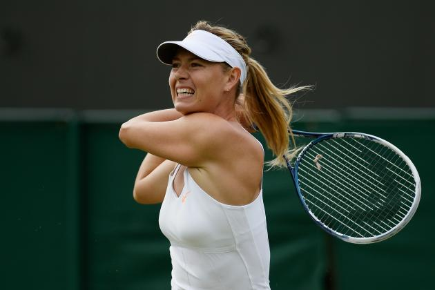 Maria Sharapova Looks More Ordinary Than Ever After Shocking Wimbledon Loss