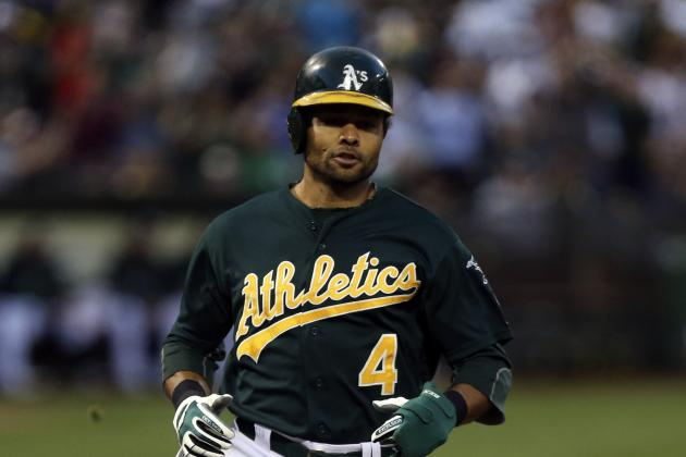 Coco Crisp Away Briefly, Not in A's Lineup