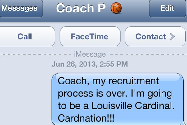 5-Star PG Lyle Commits to Louisville