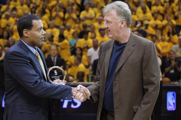 Report: Larry Bird Returns to Pavers Front Office
