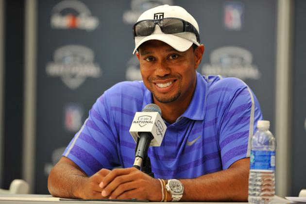 AT&T National 2013: Tee Times, Date and TV Schedule