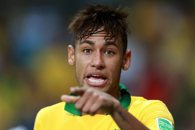 Neymar Kisses Uruguay Goodbye, Assists on Game-Winning Goal for Brazil
