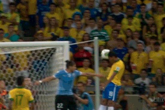 Paulinho's Impressive Header at 86' Lifts Brazil over Uruguay 2-1
