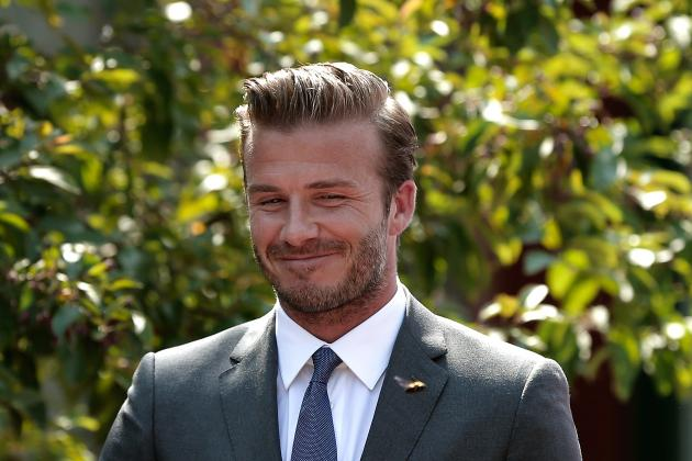 David Beckham Would Make a Fine James Bond, Says a Completely Wrong Victoria