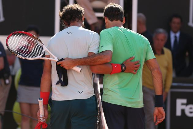 For Tennis' Two Great Rivals, There Are Now Bigger Challenges Than Each Other