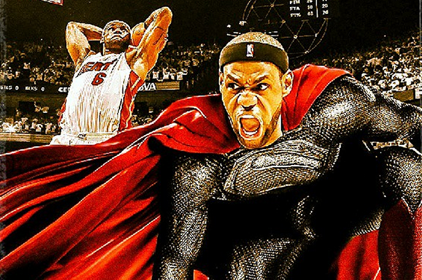 LeBron's Mom Thinks He's Superman