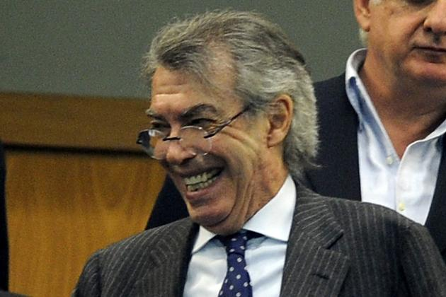 Moratti on Cassano, Thohir and Tevez