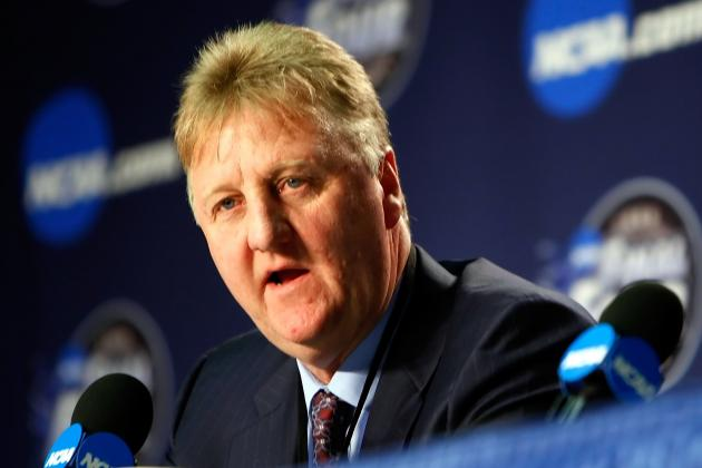 Players, Fans Excited Larry Bird Is Returning as Pacers President