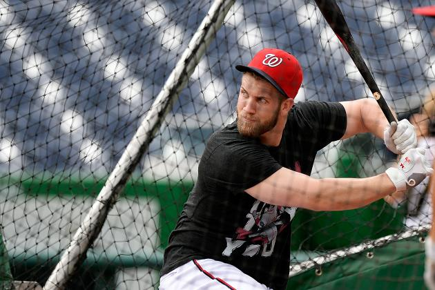 Bryce Harper Homers in Second Game of Rehab at Potomac