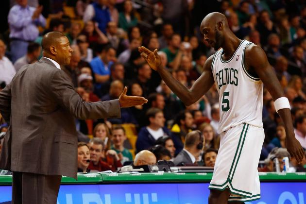 Doc Rivers Says Kevin Garnett Deserves to Be Happy, Hopes