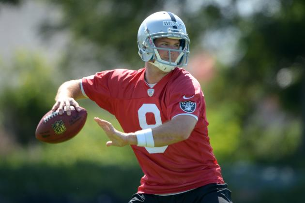 What Must Tyler Wilson Prove to Earn Raiders' Starting QB Role?