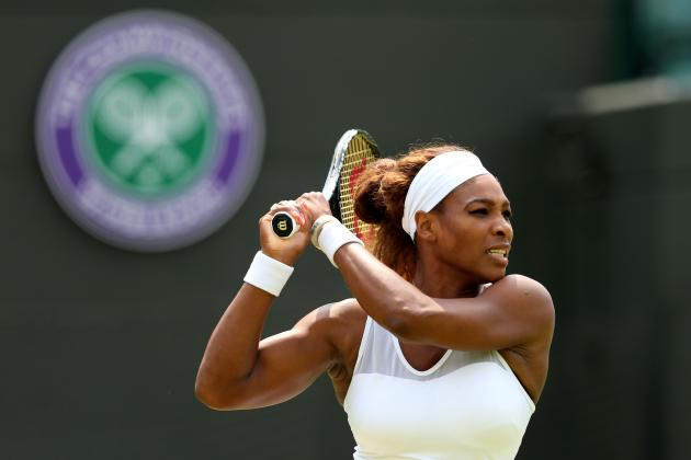 Serena Williams Defeats Caroline Garcia to Advance at 2013 Wimbledon