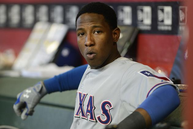 Jurickson Profar Not Ready to Play Outfield