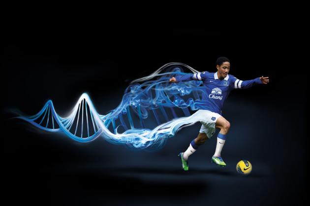 Everton Unveil New Nike Home Kit for 2013-14 With Tag Line 'It's In Our DNA'