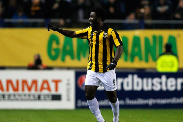 Transfer News: Swansea Are Close to Signing Vitesse Striker Wilfried Bony