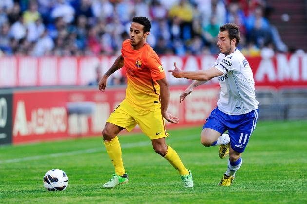 Why Thiago Won't Be Playing a Starring Role in Barcelona's First Team Quite Yet