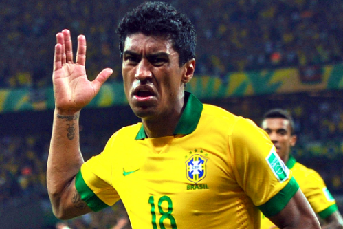 Tottenham Target Paulinho Stars for Brazil as Corinthians Prepare to Sell