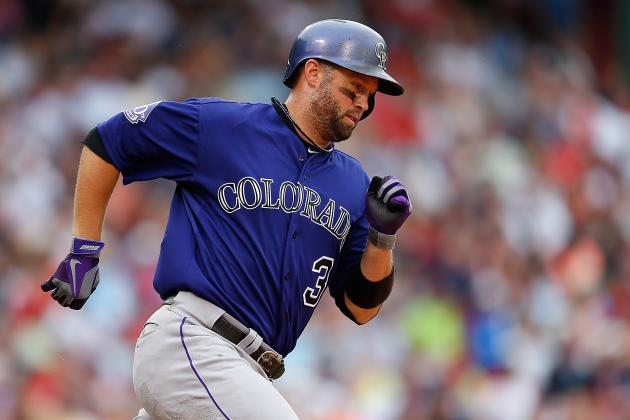 Homer Extends Cuddyer's Hitting Streak to 23