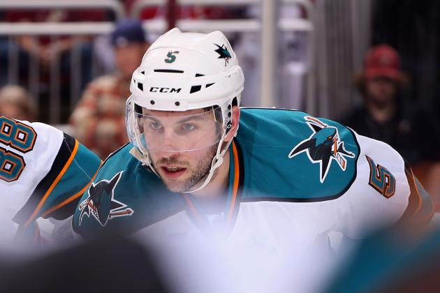 Sharks Re-Sign Defenseman Jason Demers