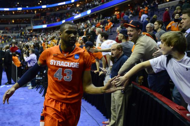 Syracuse's James Southerland Hopes to Hear His Name Called in NBA Draft
