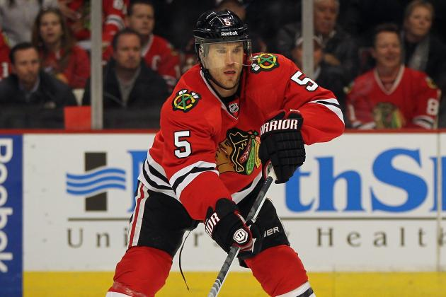 Hossa Stays: Blackhawks to Buy out Montador and Olesz