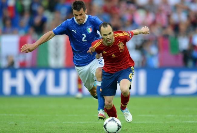 Why Andres Iniesta vs. Christian Maggio Will Define Spain vs. Italy