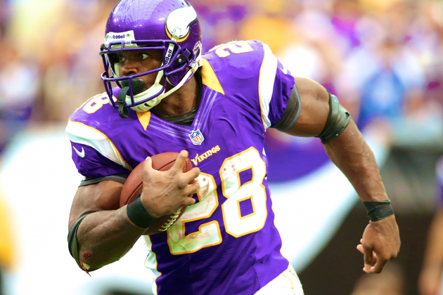 Adrian Peterson Says Detroit Lions LB Asked Him About 'Juicing'